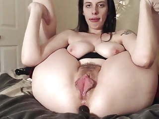 Homemade webcam anal