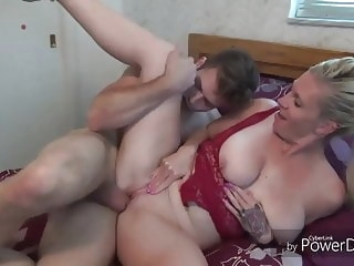 Homemade blowjob mature