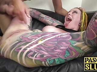 Homemade anal babe