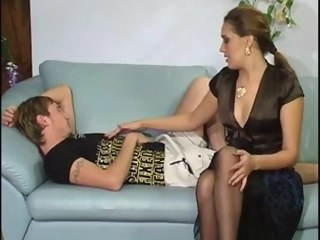 Homemade blowjob milf