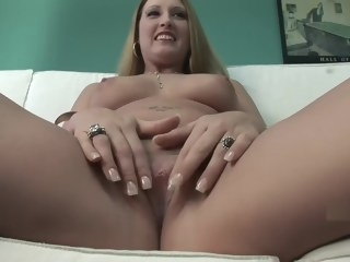 Homemade big tits blonde